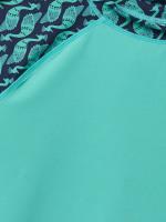 Peacock Short Sleeve Rash Vest