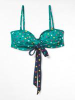 Ditsy Star Strappy Bikini Top