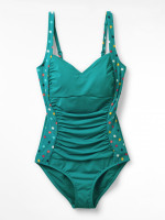 Sand Dunes Ruched Swimsuit