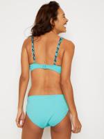 Peacock Coastal Getaway Bikini Top