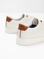 Mens Leather Trainers