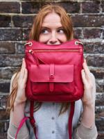 Aspen Leather Crossbody Bag