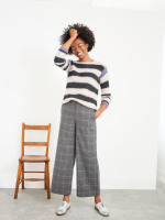 Winona Wool Check Trousers