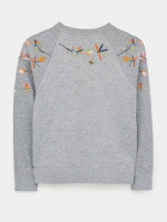 Laundered Embroidered Sweat