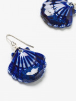 Ceramic Shell Earrings
