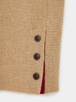 Beech Rib Button Side Jumper