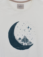 Moon Cyclist Graphic T-Shirt