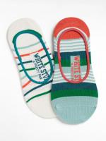 Mixed Stripe 2 pack Footsie