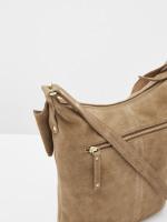Fern Star Suede Crossbody Bag