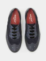 Belinda Leather Brogue Trainer