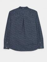 Batik Spot Indigo Print Shirt