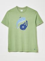 Whale Graphic Organic Tee