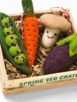 Spring Veg Crate x4