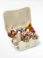 Easter Puppies Egg Box