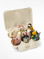 Easter Farmyard Egg Box