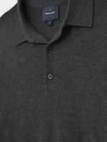 York Merino Button Neck Polo