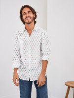Racing Car Print Shirt