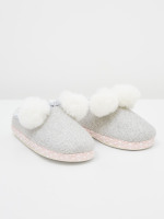 Tweed Mule Slipper