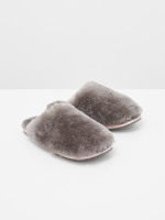 Shearling Slipper Mule