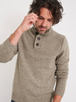 Thorgill Button Neck