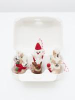 6 Boxed Santa & Reindeers