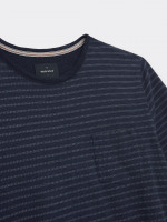 Interest Stripe Indigo Tee