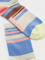 Floral Stripe Sock