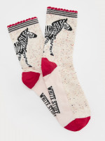 Bella Zebra Sock