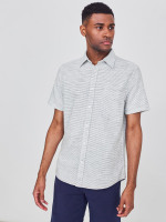 Textured Stripe Shirt