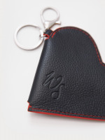 Heart Leather Coin Purse