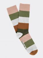 Wide Stripe Sock