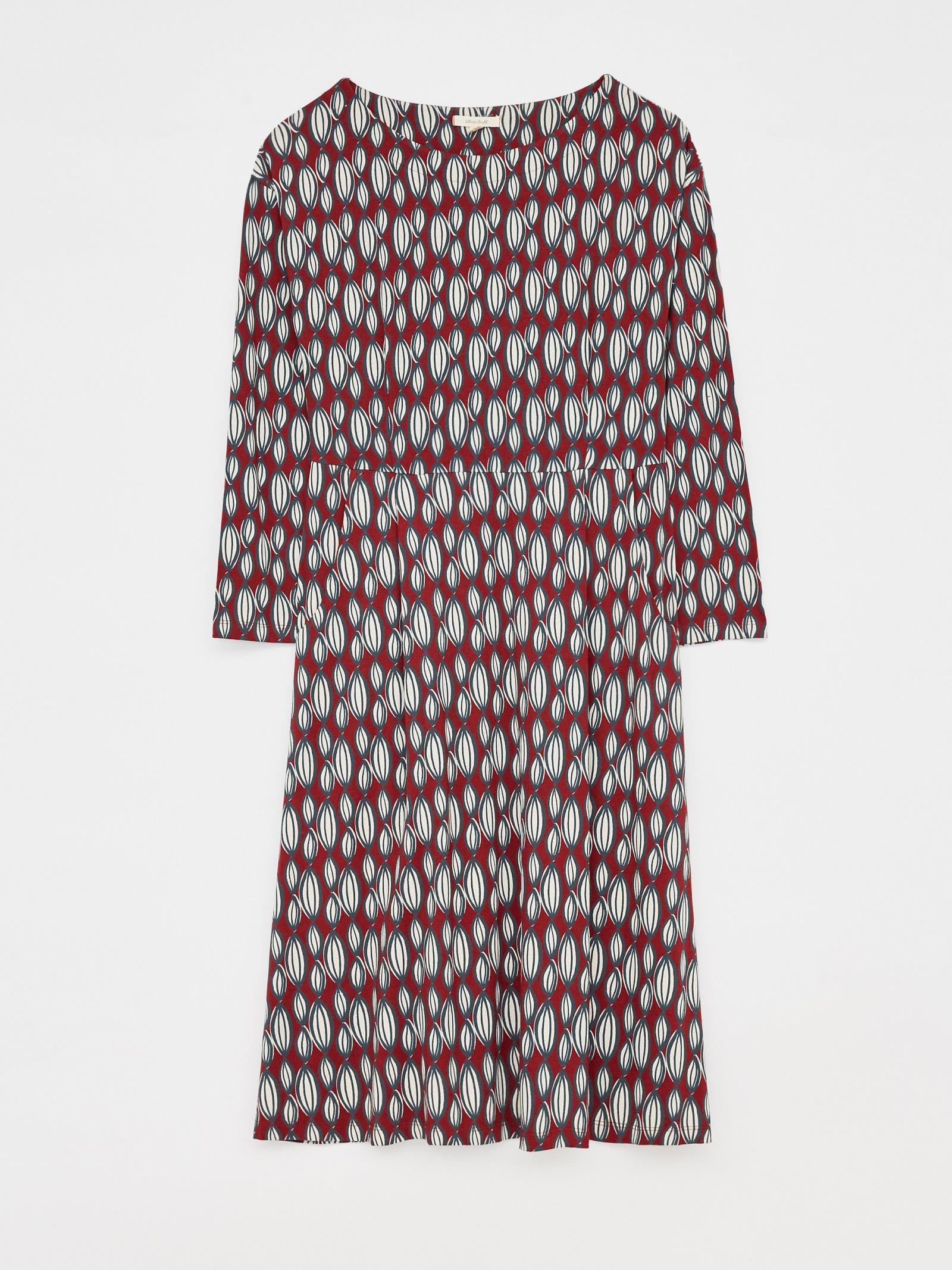 White Stuff Femmes caréner Robe Serene Cream UK 10 Neuf RRP £ 60 423328