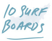 10 rescue surf boards