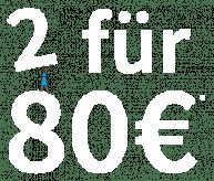 2 für 80 € - Auf Jade Jeggings