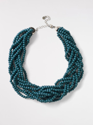 Plaited Bead Necklace