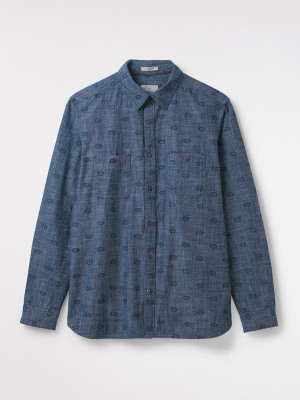 Gila Chambray Print Shirt