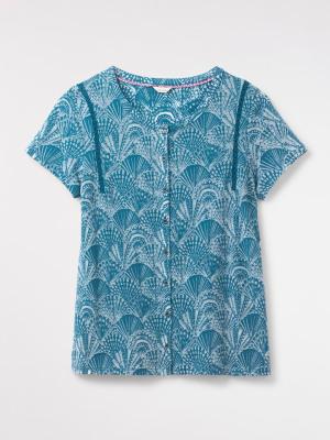 Fan Burnout Jersey Shirt