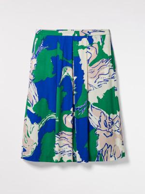 Painted Crane Skirt