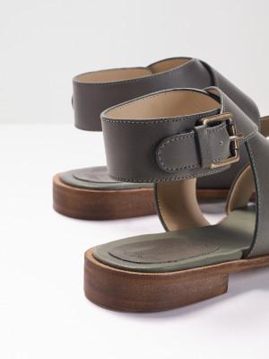 Mina Leather Sandal