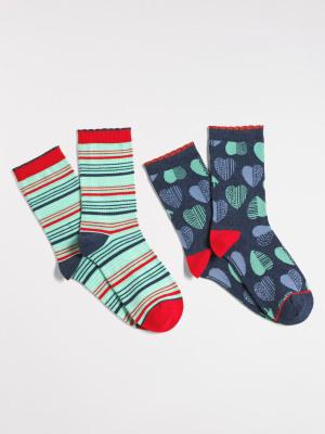 Heart To Heart Socks 2 Pack