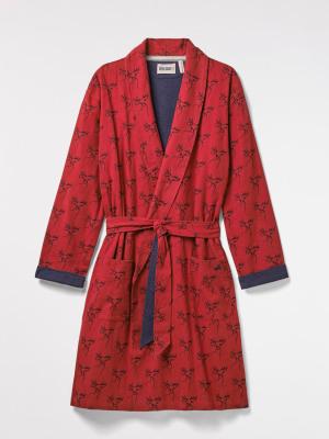 Moose Print Robe