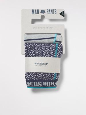 Sprig & Stripe Boxer 2 Pack