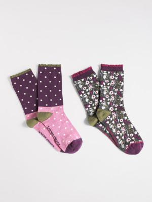 Hiding Owls Sock 2 Pack