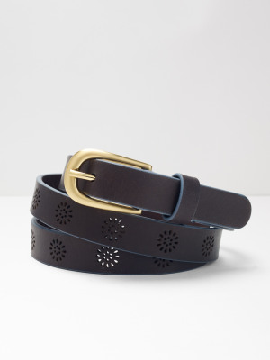 Floral Daisy Punch Out Belt