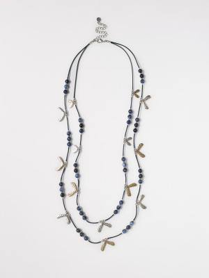 SemiPrecious Spinners Necklace