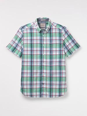 Memel Dobby Check Shirt