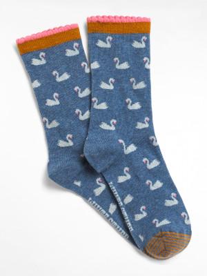 Little Swan Sock