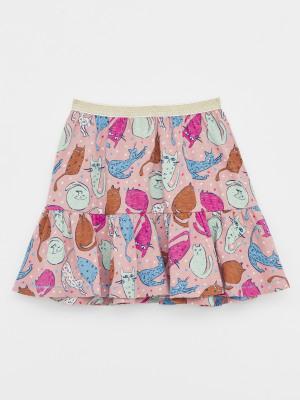 Spot The Cat Jersey Skirt
