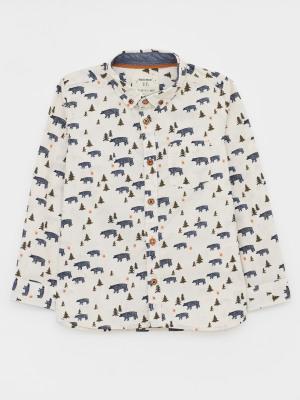 Bear With Me Printed Shirt