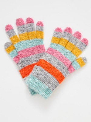 Rainbow Stripe Gloves